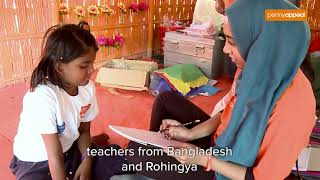 Rohingya Child-Friendly Spaces