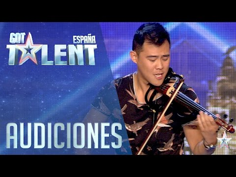 Javi Lin Y Su Violín | Audiciones 3 | Got Talent España 2016