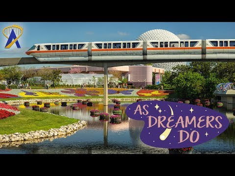 Epcot Flower & Garden 25th Anniversary SPECIAL EVENT - As Dreamers Do