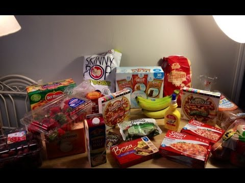First Weight Watchers Points Plus and low calorie Grocery Haul!! Lots of Yummy Food!!!