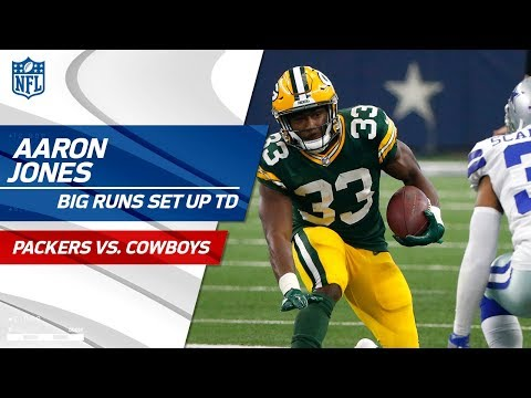 Video: Rodgers & Nelson's TD Connection Set Up by Aaron Jones' Huge Rushes | Packers vs. Cowboys | NFL Wk 5