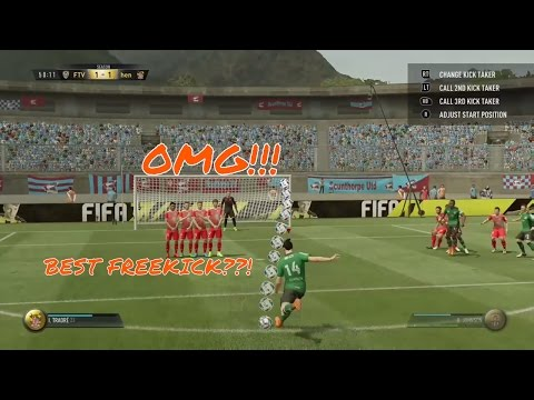 IS THIS THE BEST FREEKICK GOAL IN FIFA 17 SO FAR??!!
