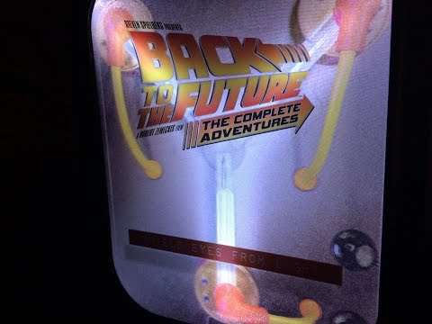 Back To The Future 30th Anniversary Complete Adventures Blu Ray Set Unboxing
