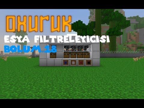 Minecraft Eşya Filtreliyicisi (Eşya Ayırıcı)