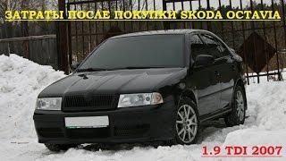 Затраты после покупки Skoda Octavia Tour 1.9 tdi