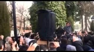Maestro Homayoon Khoram Buried , While Shajarian And Other Artists Were Singing