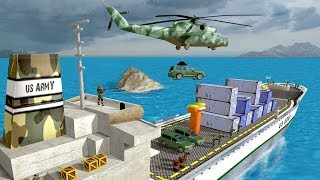 Offroad US Army Transport Game has smartest thing regarding this it'll offer you with all the fun of helicopter transport games and prime army mission games. You not solely have an opportunity to expertise land rover driving or army truck transport, you'll even fly rescue helicopter during this army force game.Google Play link: https://play.google.com/store/apps/details?id=com.crazyneuron.us.army.transport==========================================► SUBSCRIBE HERE:- https://goo.gl/dkAxut===========================================► FOLLOW ME ON TWITTER:- goo.gl/edgv25► LIKE US ON FACEBOOK:- goo.gl/IPs2wI► CONNECT US ON GOOGLE+:- goo.gl/MuKW3B============================================Offroad US Army Transport Gameplay is a mixture of army transport games & helicopter rescue games makes this army transporter game one in all the simplest army games. Enemy has initiated base of operations attack and you're the sole army truck transporter left to handle things. You would possibly have compete several fun army games however this off-road simulator can blow you away. Are you able to handle this? Transfer this offloading game now!Become a U. S. Army commando in transport mission game! Offroad US Army Transport Game will certainly show a discrepancy from the other U. S. Army transport simulator or helicopter transport games that you just have compete. Driving associate degreed Transport people weapon consignment aren't the sole eye capturing feature of army force game however a rescue helicopter also will be your partner in army attack that makes transport sim an exciting army mission games. Within the military simulator we've combined the joys in army helicopter games & army land rover driving games.These hiding mission's area unit certain to fuel your love for helicopter rescue & loading transport simulator with Offroad US Army Transport truck and transporter ship. Get into your copter, steer through the mountains and do your hiding missions sort of a super combat pilot. R