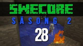 Minecraft Online på SweCore S2 EP #28: Skeleton Dungeon (Swedish)