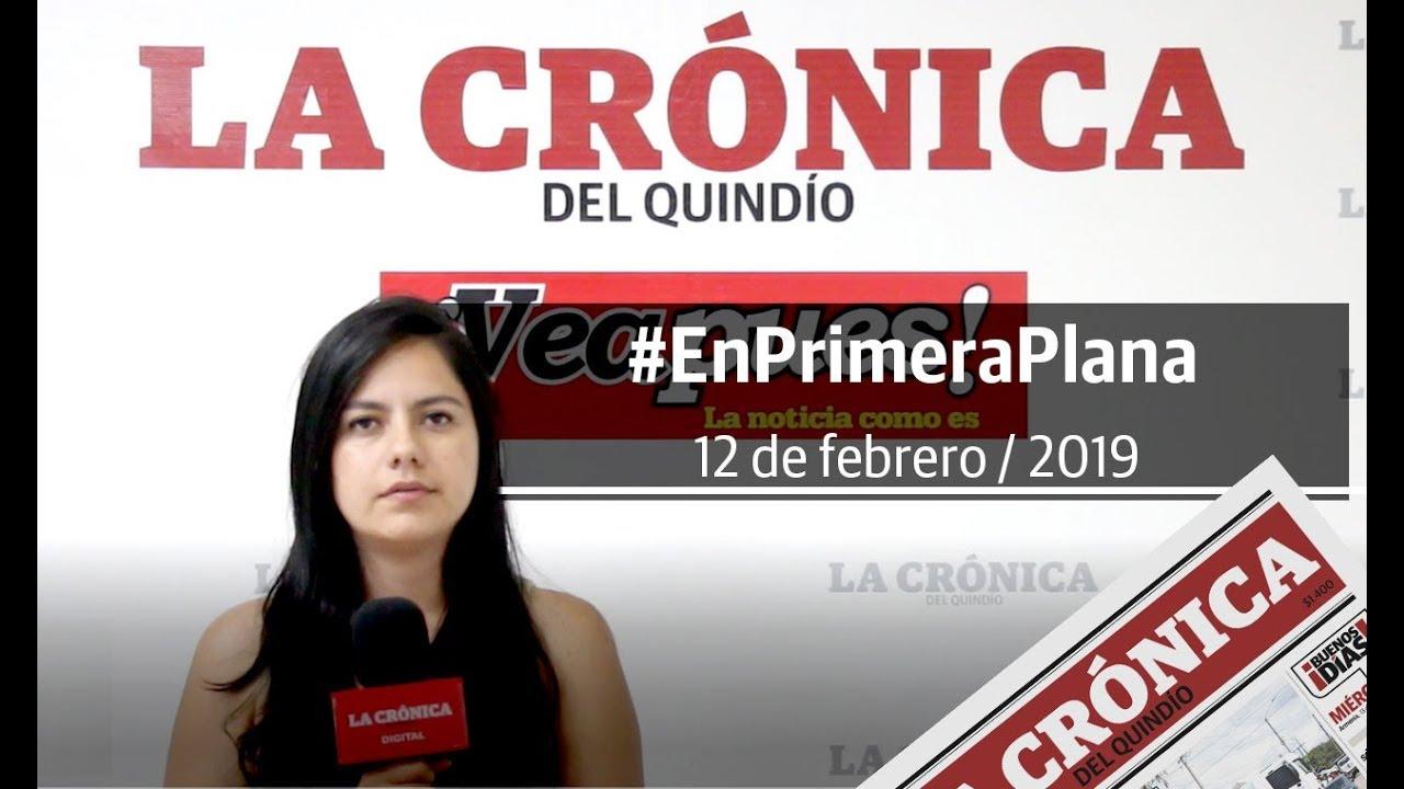 En Primera Plana: lo que será noticia este miércoles 13 de febrero