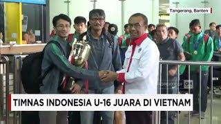 Video Selamat! Timnas Indonesia U-16 Juara di Vietnam MP3, 3GP, MP4, WEBM, AVI, FLV Maret 2018