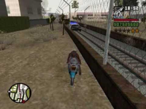 GTA San Andreas cops : Bloopers & funny moments #2