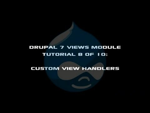Drupal 7 Views Module Tutorial 8 of 10 - Views Custom Field Handlers | Peter Yaworski, Toronto Website Developer