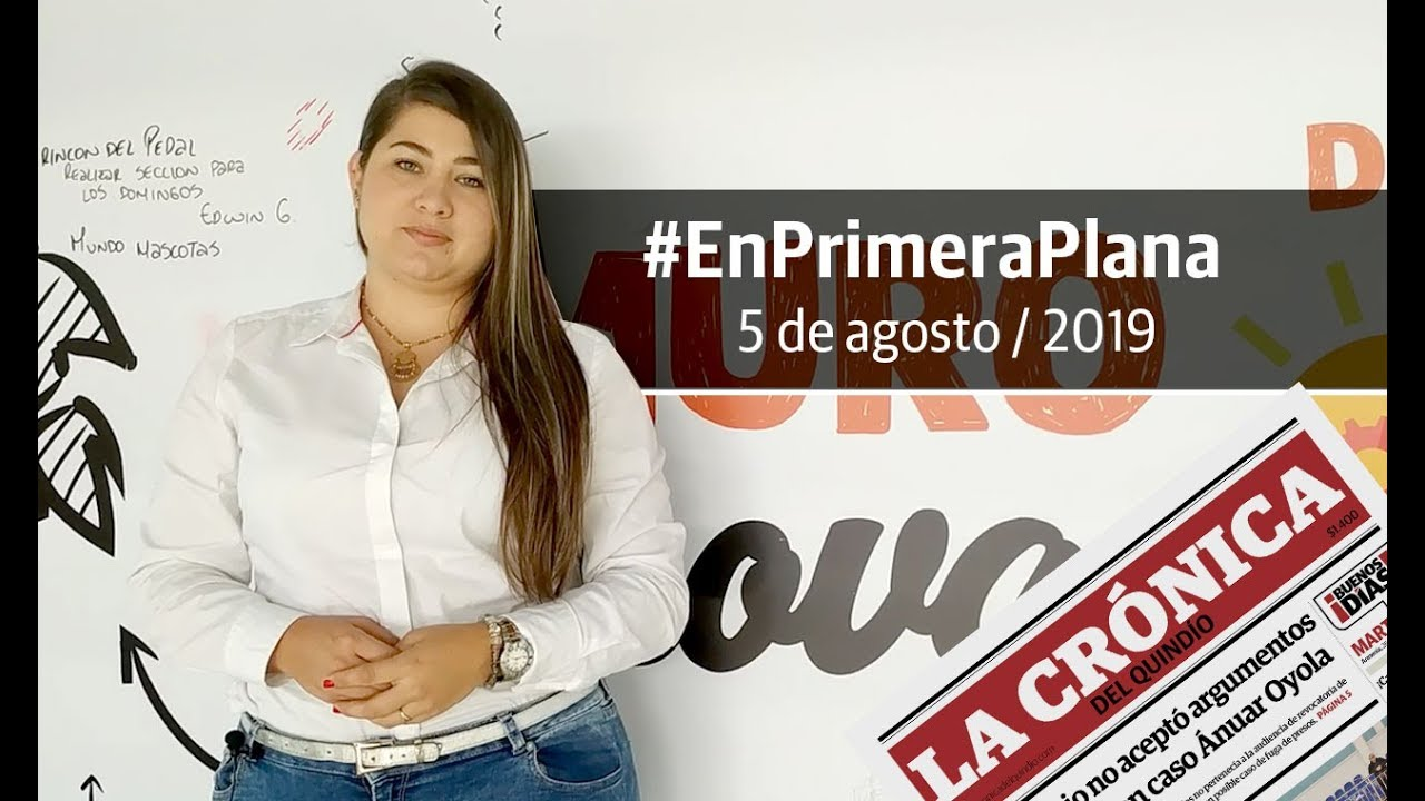 En Primera Plana: lo que será noticia este martes 6 de agosto