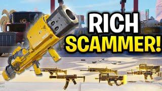 Video Super Rich Dumb Scammer Scams Himself! (Scammer Get Scammed) Fortnite Save The World MP3, 3GP, MP4, WEBM, AVI, FLV Oktober 2018