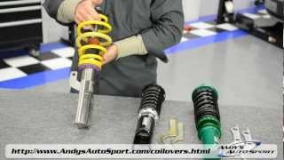 9. Lowering Springs vs Coilovers -- Presented by Andy's Auto Sport