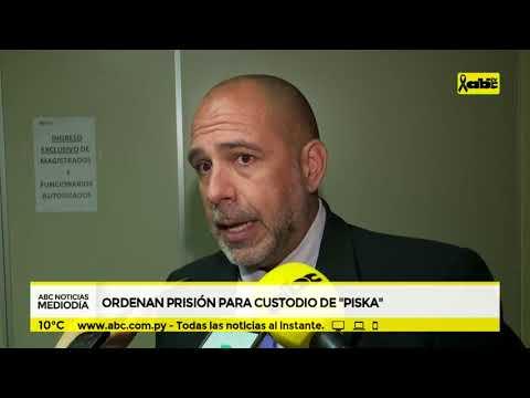 Ordenan prisión para custodio de Piska