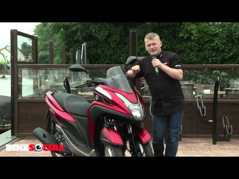 Bike Social tests the new Yamaha Tricity