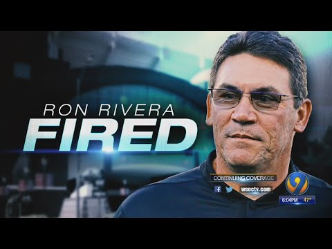 Panthers fire Ron Rivera after team loses 4 consecutive games