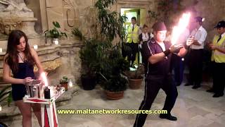 Fireplay at Notte Bianca