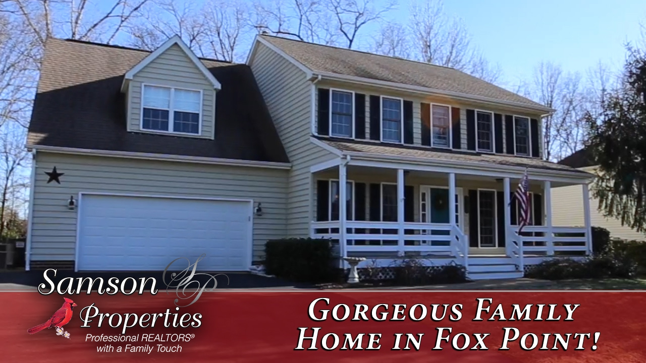 Gorgeous Family Home in Fox Point!