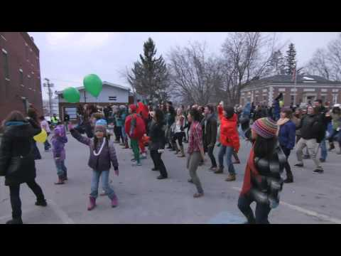 Vermont Chili Festival Zumba Flash Mob 2014