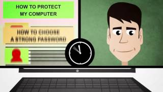John learns how to protect his personal data