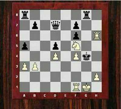 Chess Puzzle Combination : Roman Toran Albero vs Alberic O'Kelly de Galway (Chessworld.net)