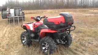 6. 2007 suzuki king quad 700