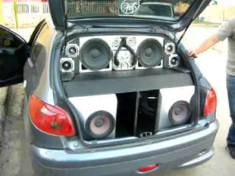 Peugeot Team NTR Car audio