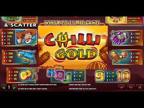 Lightning Box Games - Chilli Gold Slots Preview