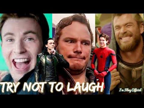 Marvel Cast Hilarious Bloopers and Gag Reel - Avengers Infinity War Special