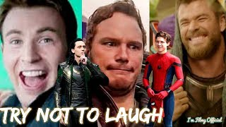 Video Marvel Cast Hilarious Bloopers and Gag Reel - Avengers Infinity War Special MP3, 3GP, MP4, WEBM, AVI, FLV April 2019