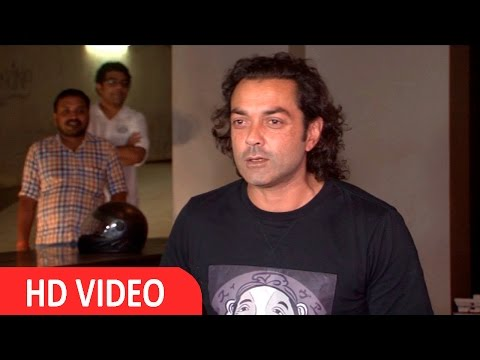 Bobby Deol At Special Screening Of Film Kapoor & Sons