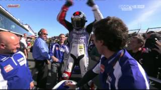 Jorge Lorenzo MotoGP World Champion 2012