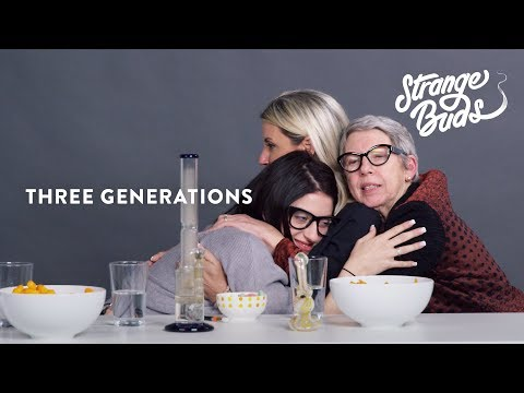 A Daughter Mom and Grandma Smoke Pot Together