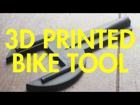 Bike Hack: 3D Printed Bike Tool! Did it Work?!