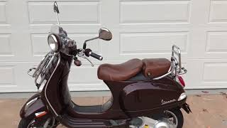 3. Vespa LXV 150 cc - 2013