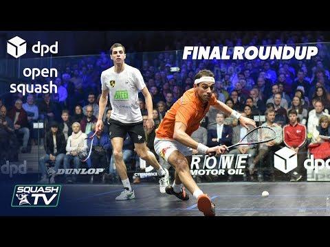 Squash: Farag v ElShorbagy - DPD Open 2019 Final Highlights