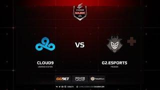 Cloud9 vs G2, cache, ELEAGUE Major Boston 2018