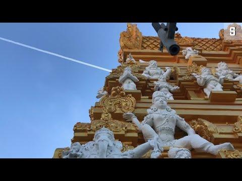 Hindu-Tempel in Berlin-Neukölln: Elefantengott auf de ...