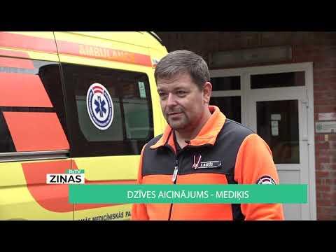 Sižets par NMPD ārstu, kurš no Rīgas pārcēlies uz Valku