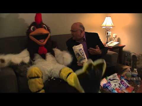WGN Morning News The Rooster Spots- Dean Richards Video