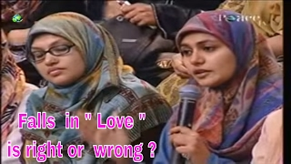 Video Falls in Love is right or wrong | Dr Zakir Naik 2017 |  Peace TV Live Streaming MP3, 3GP, MP4, WEBM, AVI, FLV Januari 2018