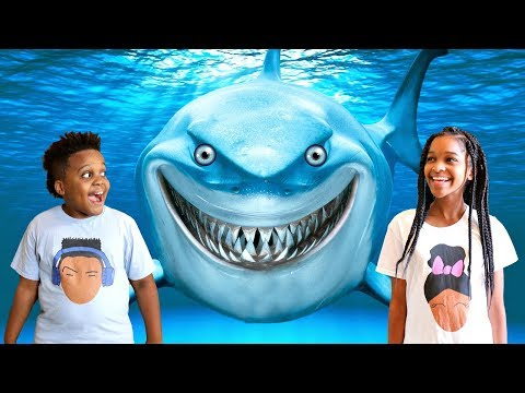 Shasha and Shiloh GO IN THE OCEAN!! - Onyx Kids