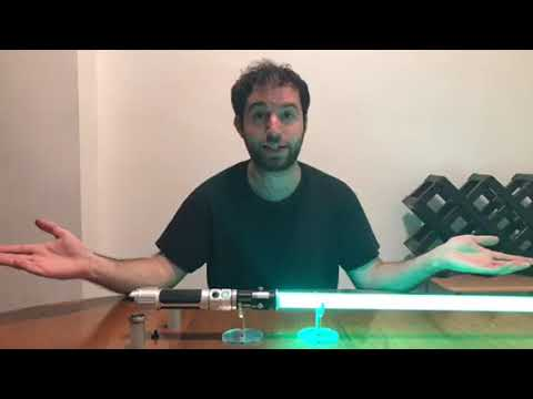 SaberForge Emerald Knight Lightsaber