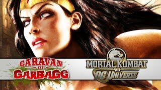 MORTAL KOMBAT VS DC UNIVERSE - Caravan Of Garbage (Wonder Woman Story)