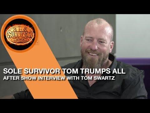 Interview with Tom Swartz, winner of Survivor SA 2018 #LiveAfter Survivor South Africa: Philippines