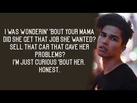 Alex Aiono - Friends X Unforgettable / Lyrics (Justin Bieber, French Montana Ft. Swae Lee)