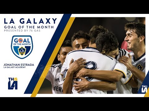 Video: Academy starlet Estrada with the curler | Goal of the Month - presented by 76 Gas