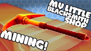 Let's Play My Little Blacksmith Shop! The new My Little Blacksmith Shop Alpha is UPDATED to 0.0.8! It adds in Smelting, Pickaxes and tools! The Axes and Pickaxes can be used for mining and to chop wood! They're both use for smelting ingots of the ore you find in the mine. Josh shows you mining and has fun with his new horse!Download My Little Blacksmith Shop for free on PC:https://dasius.itch.io/my-little-blacksmith-shop?ac=ox5j9VQFMy Little Blacksmith Shop Gameplay Playlist:https://www.youtube.com/playlist?list=PLX1cB1BI8l6k5aXFClKo_5ZnMon3eCEUy---➤Buy a Shirt! - http://shop.spreadshirt.com/GamingFTL➤Support Josh's video creation - http://www.patreon.com/GamingFTL➤Stalk me on Twitter - https://twitter.com/GamingFTL➤Join the Discord community -  https://discord.gg/XnvRSW7If I say something that bothers or you or that you think was ill-considered, please let me know. I can't promise to be perfect, but I can promise to try to listen, learn, and apologise when I screw up. ✌---